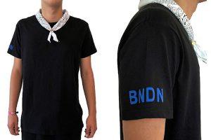 BANDANA black/WHITE